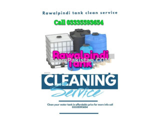 Water tanks cleaning service on reasonable cost for Rawalpindi and Islamabad